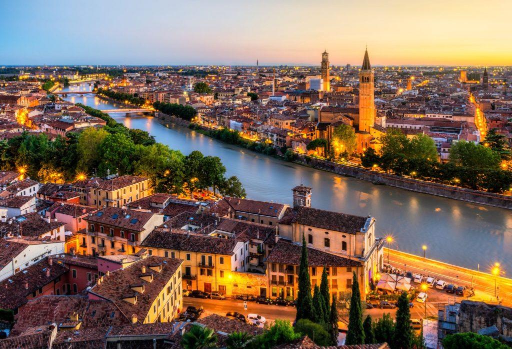 Taxi transfer Verona City